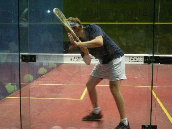 James Willstrop backhand racket preparation
