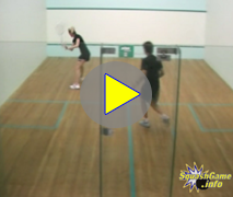 squash drills in progress