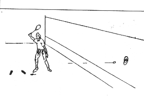 Forehand Drive - continuous into target