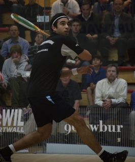 Backhand Straight Volley by H Ashour