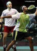 Shabana overhead volley backswing